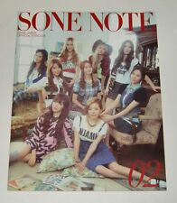 SNSD Girls' Generation JAPAN OFFICIAL FANCLUB MAGAZINE Vol.02 SONE NOTE