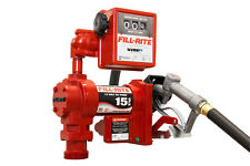 Tuthill Fill Rite FR1211G 12 V DC High Flow 15 GPM Fuel Transfer Pump with Meter