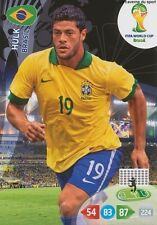 N°059 HULK # BRAZIL PANINI CARD ADRENALYN WORLD CUP BRAZIL 2014
