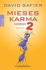 Mieses Karma hoch 2  David Safier  Taschenbuch  ++Ungelesen++