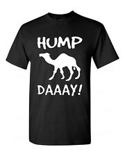 Camel Commercial Hump Day Funny T-SHIRT white logo tee