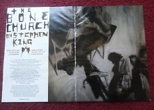 2009 Magazine Short Story 'The Bone Church' by Stephen King w/ Phil Hale Art