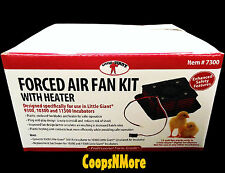 7300 CIRCULATED AIR FAN KIT FOR LITTLE GIANT 9300 STILL AIR EGG INCUBATOR FORCED