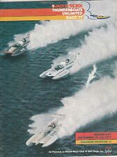 JACK IN THE BOX POWERBOATS UNLIMITED 1977 PROGRAM-SAN DIEGO