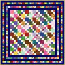 "HIGELTY PIGELTY - 69"" - Pre-cut Patchwork Quilt Kit by Quilt-Addicts Double"