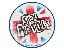 SEX PISTOLS logo union jack 2010 WOVEN SEW ON PATCH official merchandise McLaren