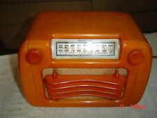 1945 SENTINEL CATALIN Tube Radio Model 284NI, Wave Grill, Good Condition