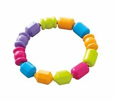 Fisher-Price Snap Lock Beads, 12 Colorful Beads, Developmental Baby Toy, New