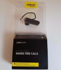 Jabra Mini Wireless Bluetooth Headset for Smartphones HD Voice Hands Free, Black