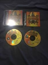 PlayStation PS1 Oddworld Abe's Exoddus Complete Game Discs 2 Case Manual