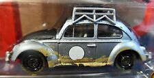 JOHNNY LIGHTNING 65 1965 VW VOLKSWAGEN RALLYE BEETLE BUG SLVR W/CAR COVER 1/2500
