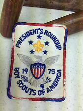 BOY SCOUT OF AMERICA PRESIDENTS ROUND-UP USA 1975