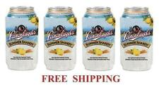 LEINENKUGELS 4 SUMMER SHANDY 16oz BEER CAN COOLERS KOOZIE COOLIE PINT HUGGIE NEW