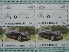 1952 BENTLEY CONTINENTAL R-Type Car 50-Stamp Sheet Auto 100 Leaders of the World