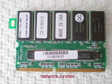 Cisco cis-15-6916-01 mem-MSFC 3-1gb SDRAM 1gb pc133 64x8 18 Chip 144pin ecc
