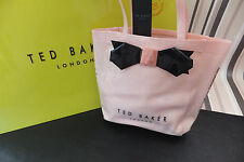 TED BAKER Genuine Light pink Tinicon Small Bow Icon Bag BNWT