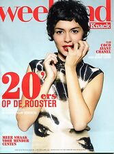 AUDREY TAUTOU  WEEKEND KNACK