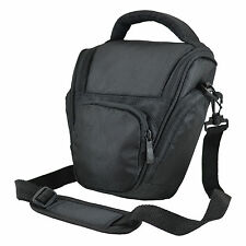AA7 Black DSLR Camera Case Bag for Fuji SL300 SL245 SL240 X-S1 S3 S5 Pro