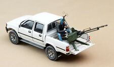 Meng Model 1/35 Toyota Hilux Pick Up w/ZPU-1 Anti-Tank Gun