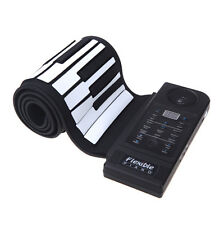 USB Port Flexible Roll Up Keyboard Piano, 61 Keys, Loud speaker