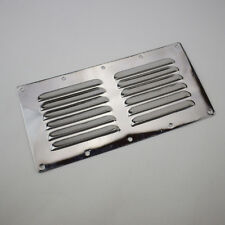 9''X4'' Stainless Steel Air Vent Louvred Cover Ventilation Louvre Grille Superb