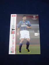 Panini UEFA Champions League card 2007/8 # 92 - Figo - Inter