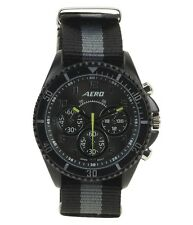 Aeropostale Men's Ribbon Stripe Watch