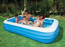 "BESTWAY INFLATABLE SWIM CENTER FAMILY KIDDIE WADDING PLAY SWIMMING POOL 120""x72"""