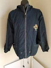 RIPCURL MEN'S BLUE ZIP UP JACKET SIZE SMALL 90'S JACKET