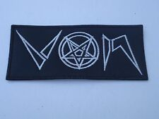 VON SATANIC BLACK METAL EMBROIDERED PATCH