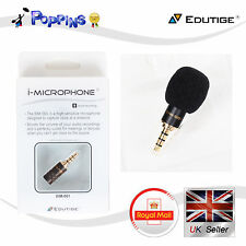 Edutige Music Sound Recording Microphone EIM-001  iPhone iPod 4-pole(CTIA)  Jack