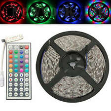 5M 3528SMD RGB 300LED Flexible LED Light Strip Nicht-Wasserdichter+IR-Controller