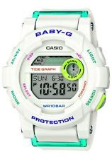 Casio BGD-180FB-7ER Baby-g G-lide Yacht Timer marea Gráfico 100m Resina RRP £ 90