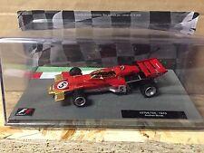 """DIE CAST """" LOTUS 72C - 1970 JACHEN RINDT """" FORMULA 1 COLLECTION SCALA 1/43"""