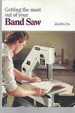 """GETTING THE MOST OUT OF YOUR BAND SAW"" DELTA How-to LIBRARY Book Project ~ S23"