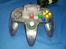 OEM Atomic Purple Nintendo 64 N64 Controller Transparent TIGHT STICK, VERY NICE