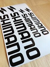 Shimano Bicycle Decal Set MTB/ROAD (Gloss Black)