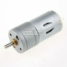 12V DC 1200RPM Powerful High Torque Gear Box Motor