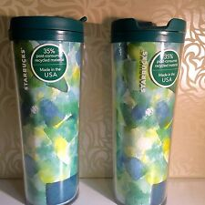Starbucks Coffee Travel Tumbler Cup  Mug  16 oz SET OF 2 BRAND NEW GREAT GIFT