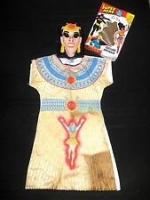 Vintage 1976  Ben Cooper Halloween Super Hero Costume & Mask ISIS Large (12-14)