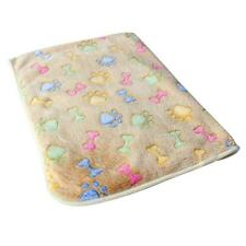 Hamsters Pad Blanket Pet Cat Mat Dog Puppy Warm Bed Paw Coral Fleece Cover S