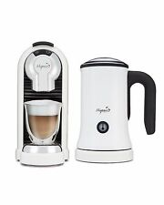 Mixpresso White espresso latte machine and milk frother Nespresso compatible