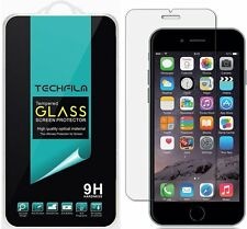 TechFilm® Tempered Glass Screen Protector Saver Shield For Apple iPhone 6 / 6S