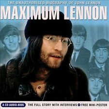Maximum Lennon: The Unauthorized Biography of John Lennon by John Lennon (CD, A…