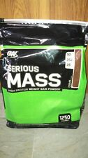 ON  Optimum Nutrition Serious Mass,12 Lbs-Chocolate