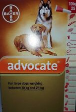 Bayer Advocate Spot On for Dogs 22- 55 LBS (10-25kg)1 MONTH FREE SH