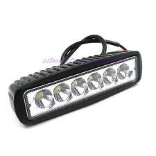 1550LM Mini 6 Inch 18W 6 x 3W LED Light Bar as Worklight Spot Light New