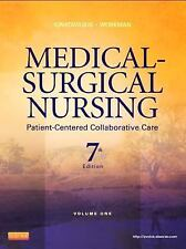 Medical-Surgical Nursing Patient-Centered Collaborative Care 7th Ed Textbook