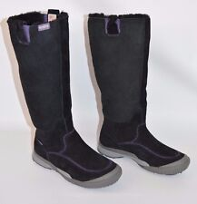 Cushe Wildride Black Suede High Boots Waterproof Technology Women's Size 6
