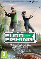 EURO FISHING GAME DOVETAIL GAMES (PC CD) BRAND NEW SEALED (STEAM VERSION)